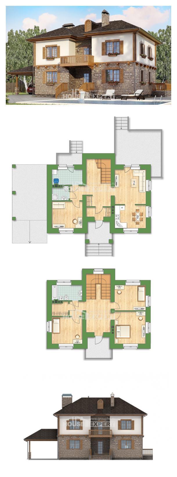 Проект дома 155-006-Л   House Expert